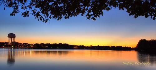 sunset bluehour fountainlake albertleamn