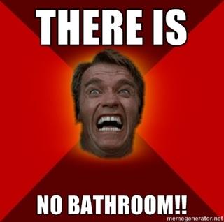 There Is No Bathroom.There Is No Bathroom Erica Applesauce Flickr