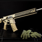 Seekins FDE rifle.