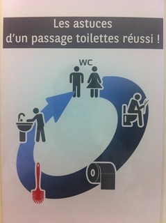 Life in office : tutorial for toilets | by Marc Ben Fatma - visit sophia.lu and like my FB pa