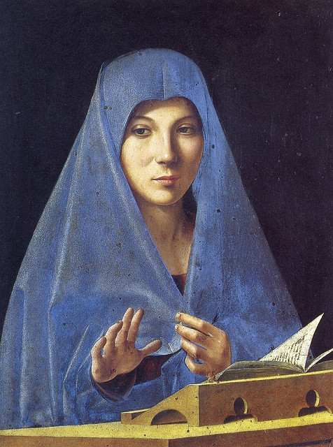 Antonello da Messina - L'annunciata (1475)