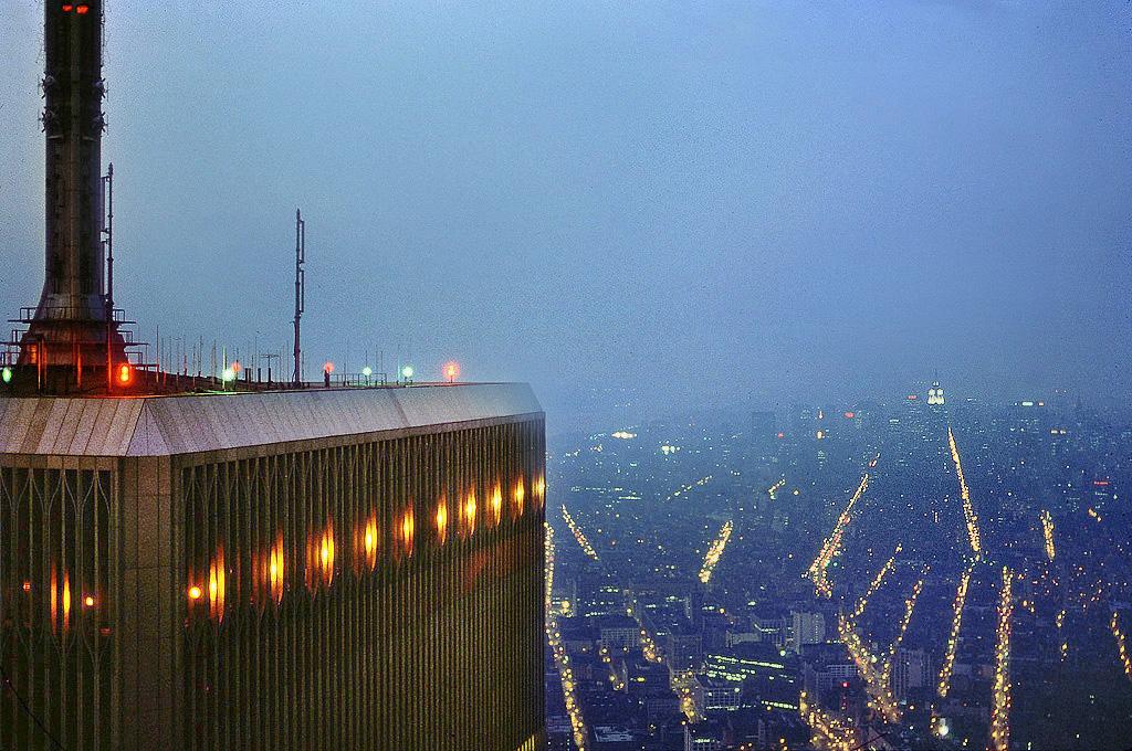 World Trade Center Observation Deck 1980 City Of Light