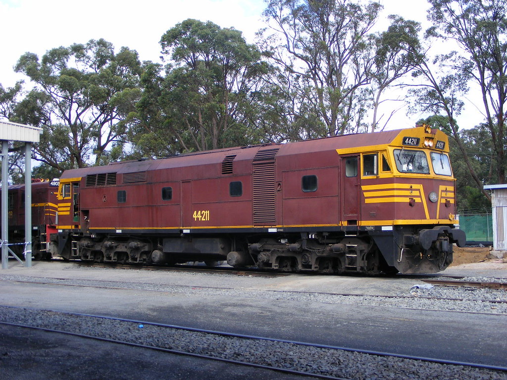 NSWGR 44211 Thirlmere 19.02.10 by Andy Cole