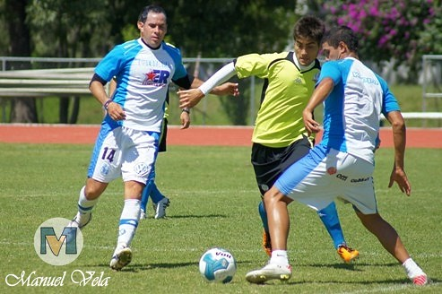 """DSC00200 Puebla FC vs Lobos BUAP """"Sesión de trabajo compartida"""" (El clásico de los Lunes) por LAE Manuel Vela"""