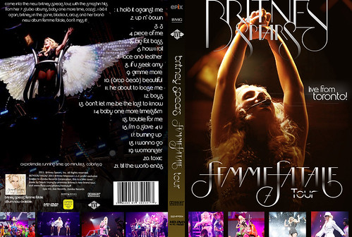 Britney Spears - Femme Fatale Tour DVD COVER