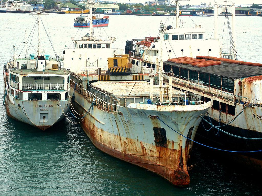 M/V Palawan Star alongside M/V Cebu Star and M/V Sun Star | Flickr