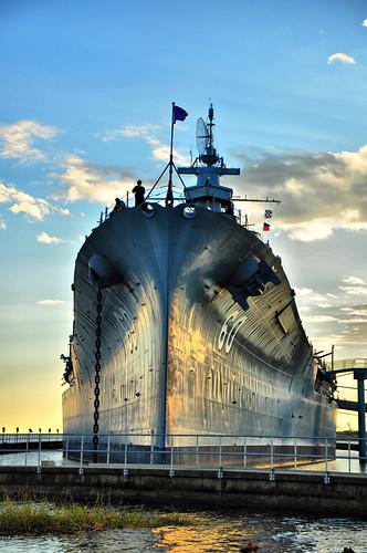 ocean blue pier nikon ship alabama bayway battleshippark d300s