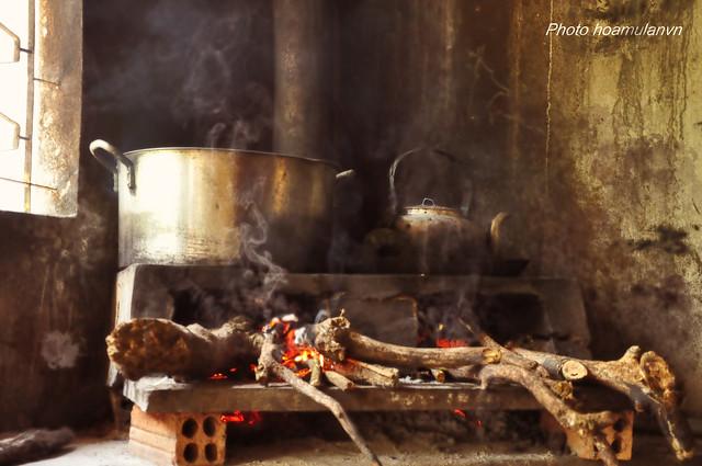 Chái bếp ở chùa