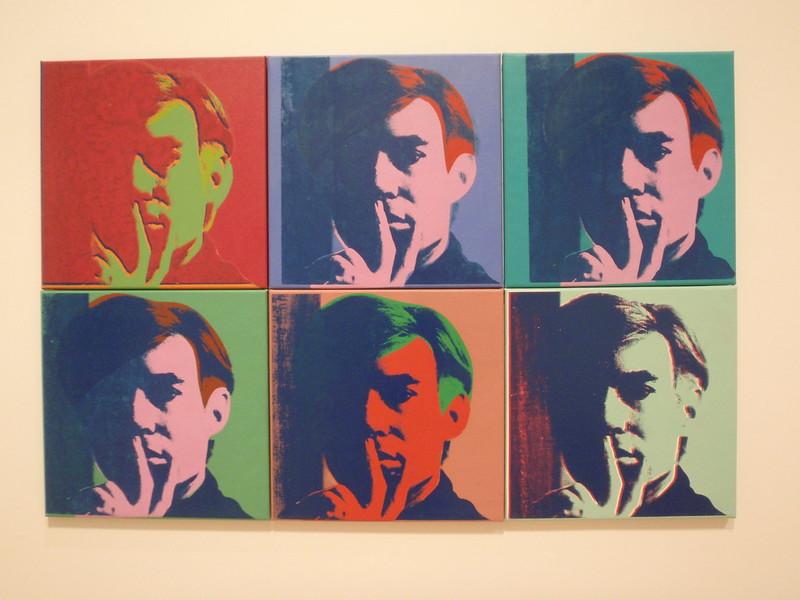 A Set of Six Self-Portraits, Andy Warhol