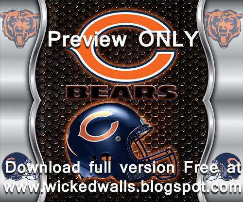 Chicago Bears Heavy Metal Wallpaper 1152x960 | Download full