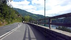 Велодорожка вдоль озера Millstatter See