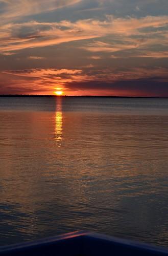 sunset metung gippslandlakes