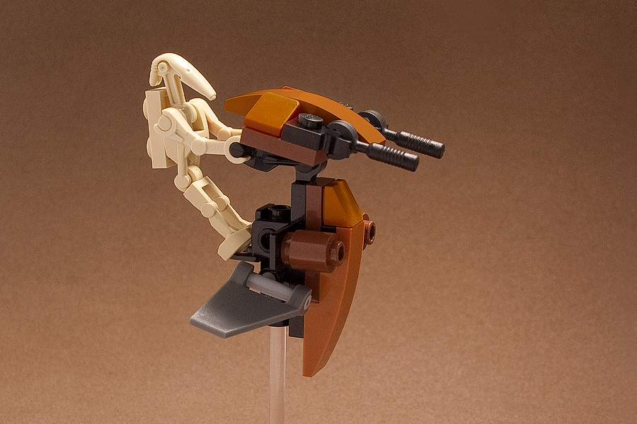 Custom Lego Stap Droid And A Different Angle Flickr