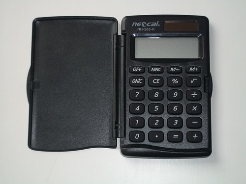 Calculator, Solar Power- Petanque