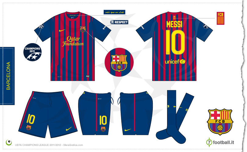 11c16884ba8 Barcelona Champions league home kit 2011/2012 | Sergio Scala | Flickr