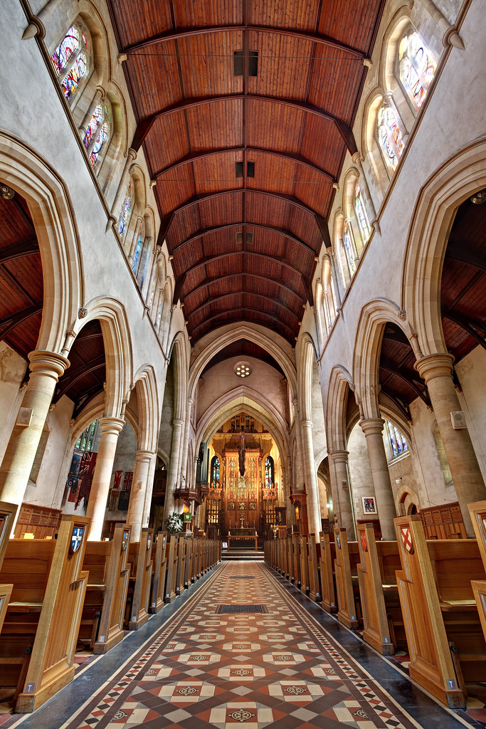 Image: The Nave of St Peter's