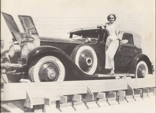 Marlene Dietrich And Her Rolls-Royce Phantom - a photo on Flickriver