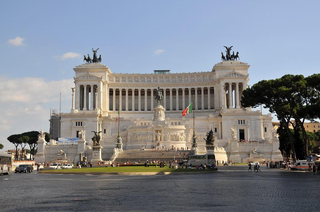 Monument Van Victor Emanuel Ii.Monument Victor Emanuel Ii Rome Het Monument Van Victor
