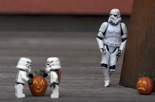 choosing pumpkin   by Kalexanderson