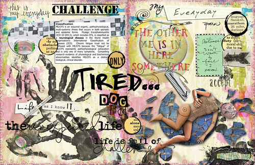 AJC Itinerary #37 {Verb: Challenge} - 2-Page LO | by sbpoet