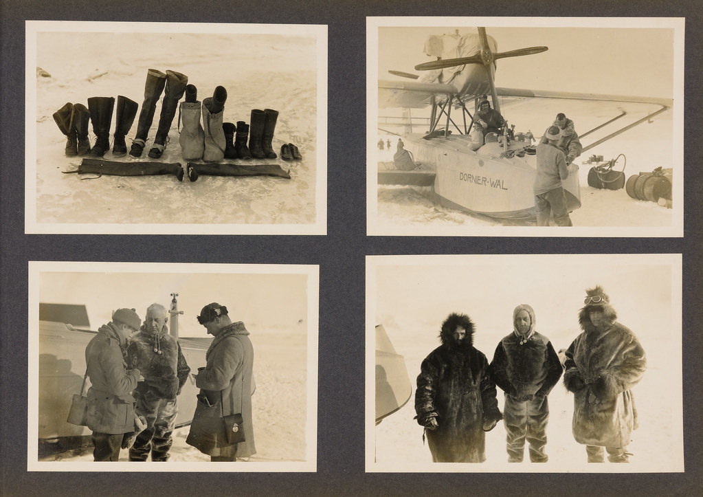 From the album about the Amundsen-Ellsworth polar flight 1925