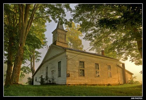 ny newyork church rural sunrise dawn countryside warm farm fingerlakes cortland
