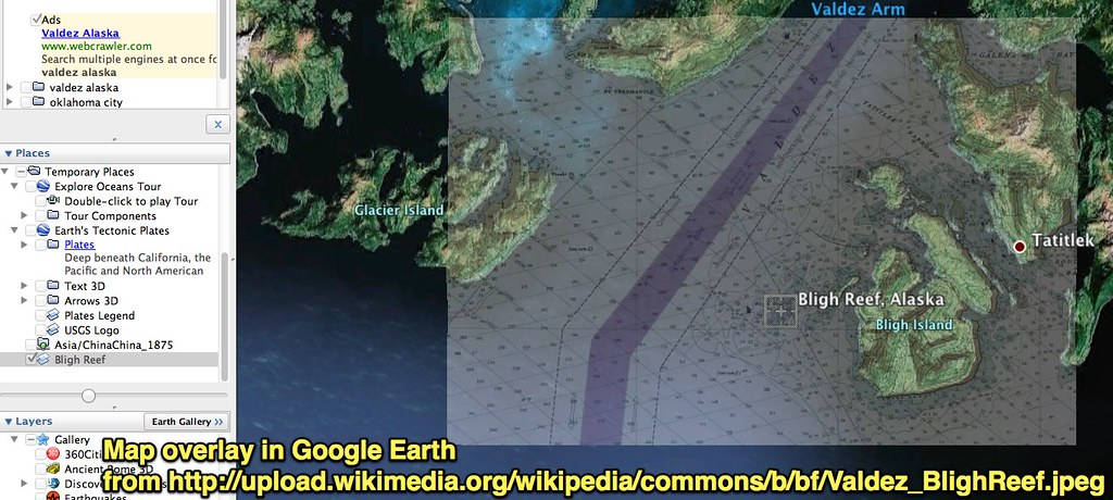 Google Earth Map Overlay of Bligh Reef   Uploaded with Skitc