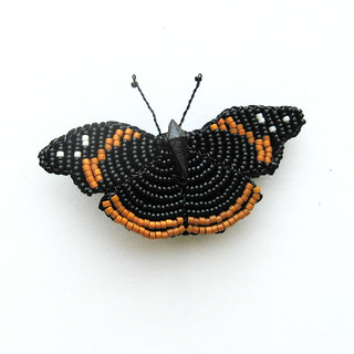 IMG_0743 Beaded red Admiral butterfly