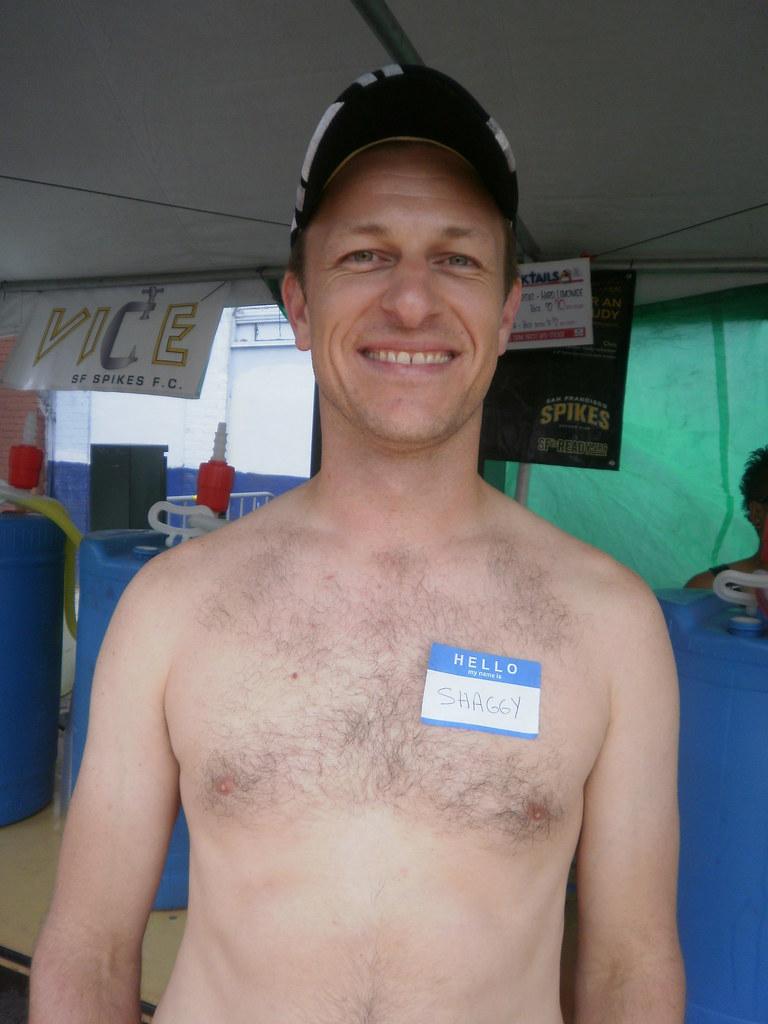 FOLSOM STREET FAIR 2011 -HELLA HOT DADDY -MR SHAGGY ( safe photo )
