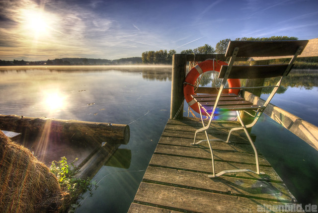 Lonely Chair - Cloister Lake