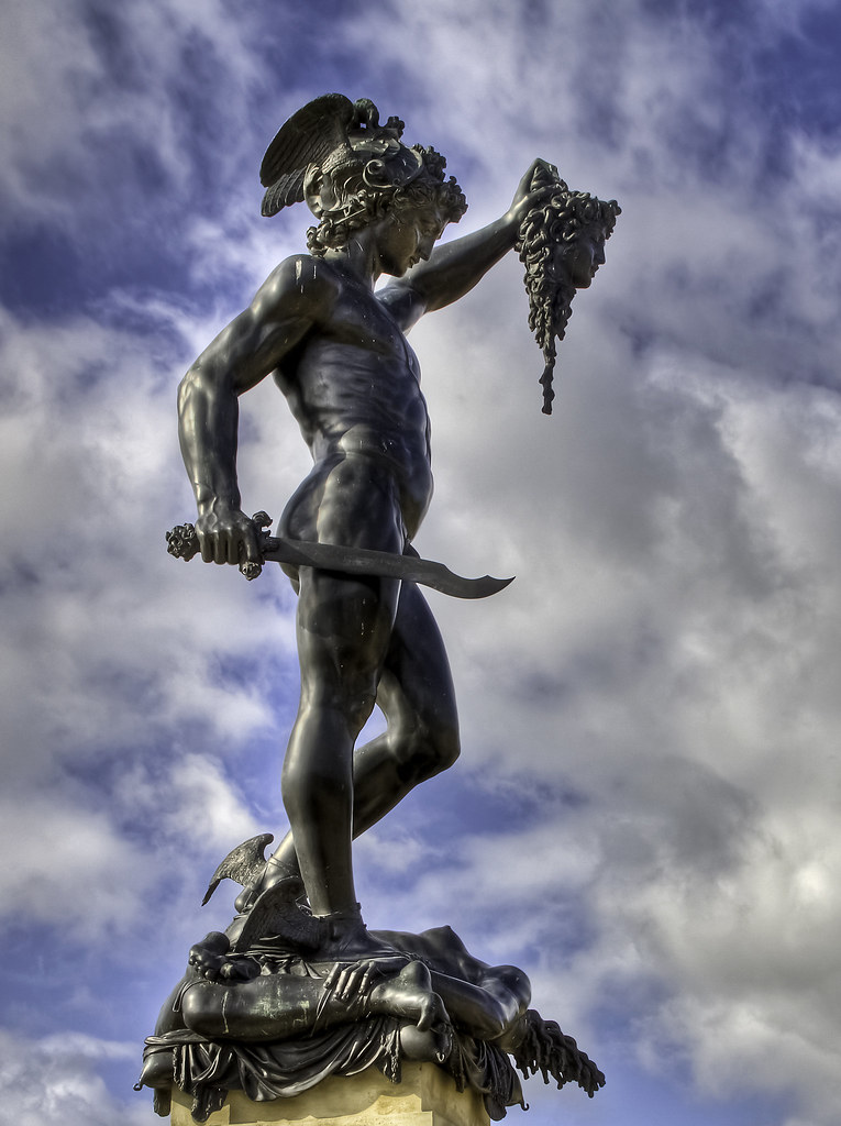 Perseus Medusa And A Strategically Placed Sword This Sta