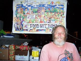 Keith McHenry, one of the founders of Food Not Bombs | by MaximizeLoveOnEarth.org