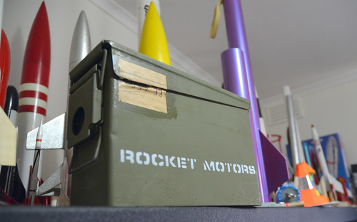 Rocket Motor storage box | by Sascha Grant