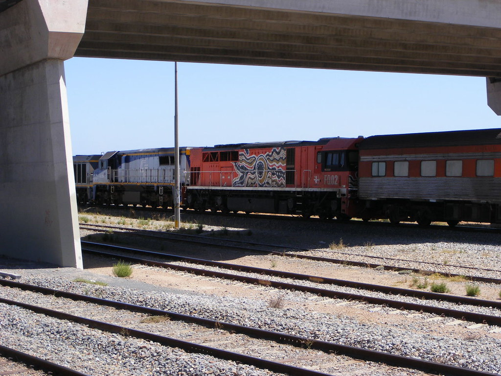 Freight Link FQ02 Mawson Interchange 28.02.10 by Andy Cole