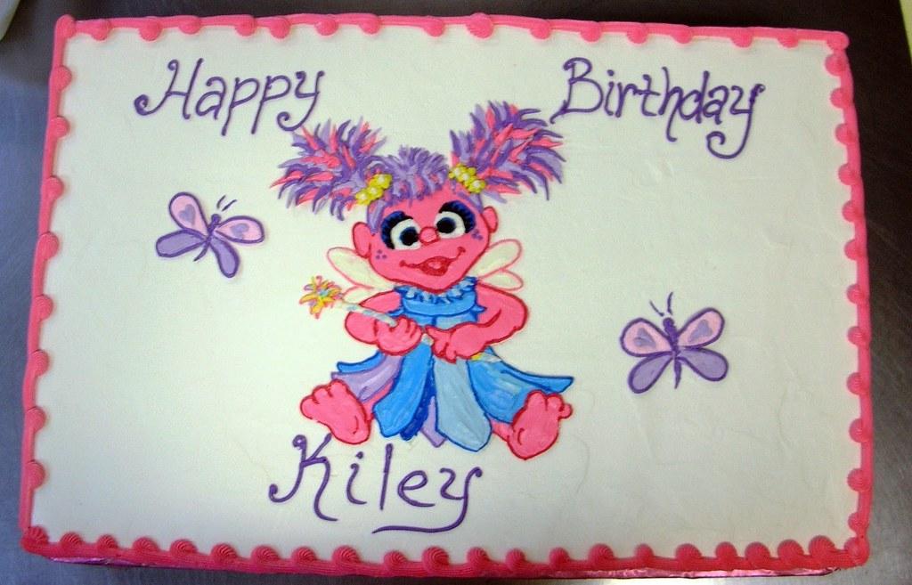 Fantastic Abby Cadabby Birthday Cake Abby Cadabby Birthday Cake Flickr Personalised Birthday Cards Veneteletsinfo