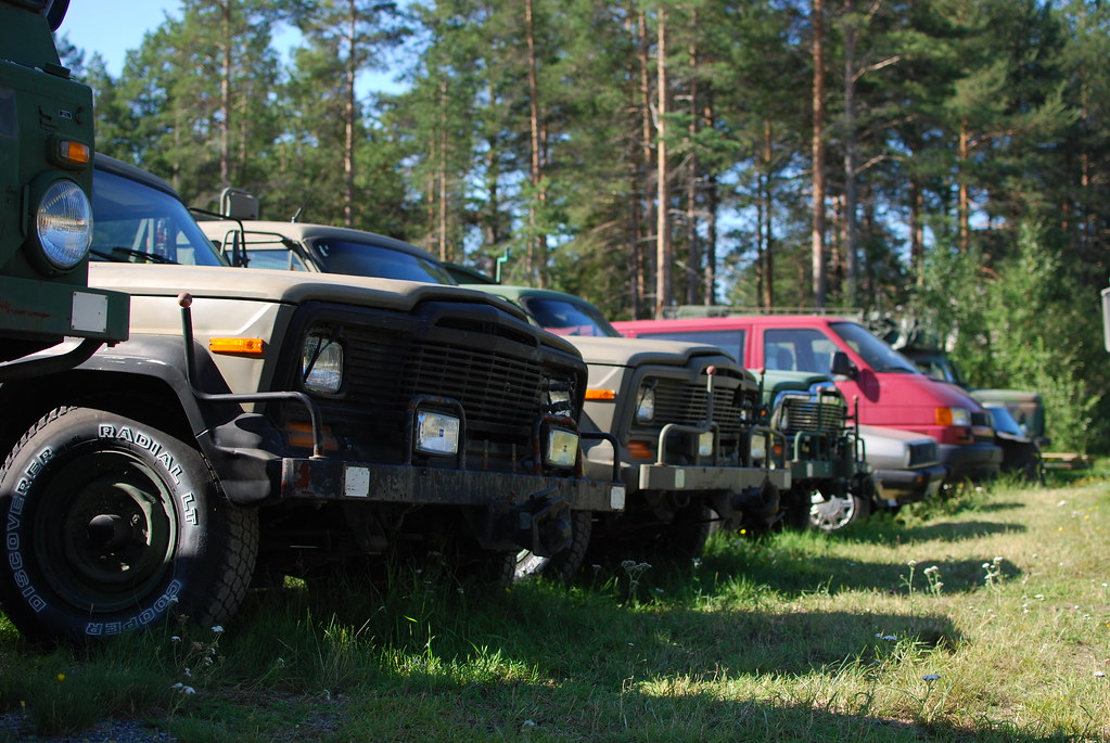 Jeeps | Jeep J20´s that once belonged to the Swedish Air For