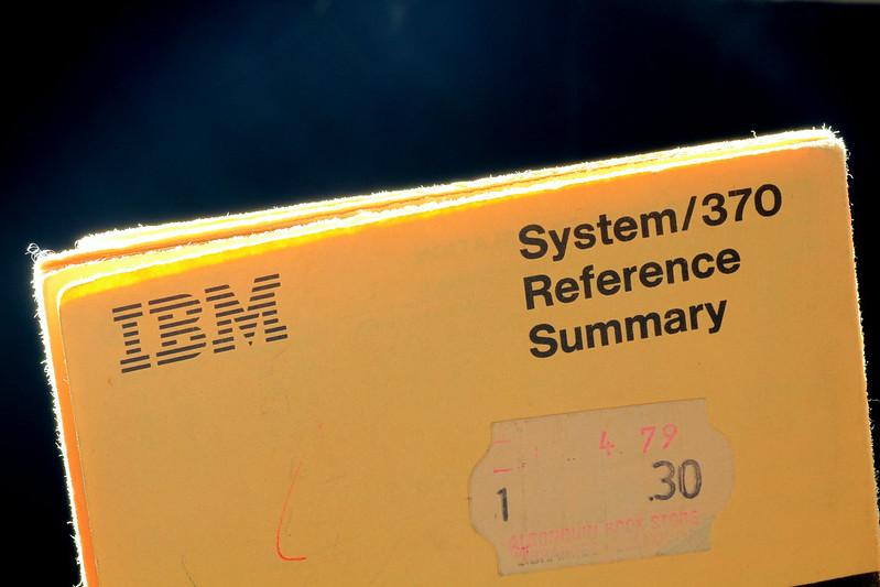 "IBM ""Yellow Card"""
