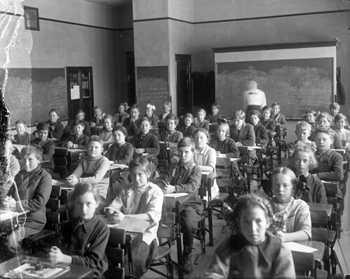 People behaving in a classroom | by OSU Special Collections & Archives : Commons