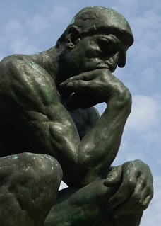 Paris AUG2011 Musee Rodin Thinker 1 | by Mark B. Schlemmer