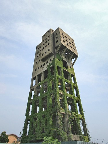 Winding Tower of Shime coal mine | by xeophin