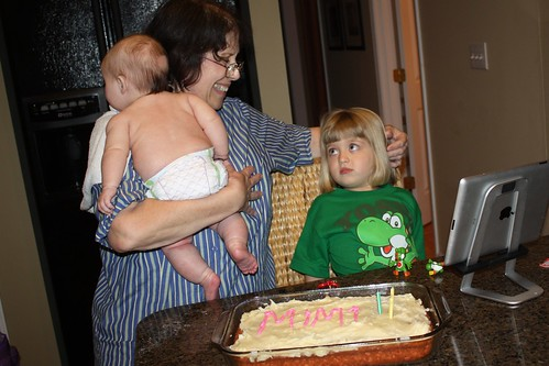 Mimi & her grandbabies on her birthday | by poobou