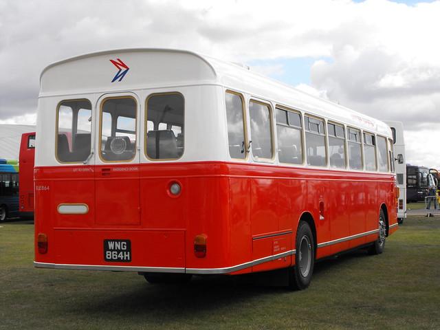 RLE 864 (3), WNG 864H, Bristol RE, ECW Body, 1970 (t.2011)