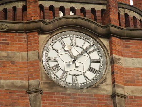 Bournville Baths - Clock tower | by ell brown