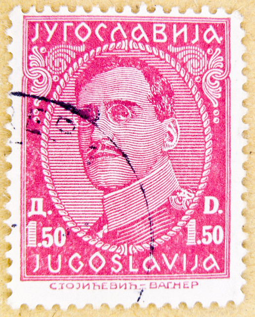 ancient stamp Jugoslavija 1.50 d Dinar King Alexander postage stamps poste-timbres sellos Jugoslavia stamp Jugoslavia 0.50 d Jugoslawien stamp Jugoslavija Yugoslavia Југославија Югославия postage selo timbre Yougoslavie 南斯拉夫 邮票 sellos Jugoslavia bol