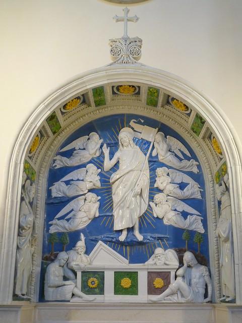 Andrea della Robbia - The resurrection of Christ