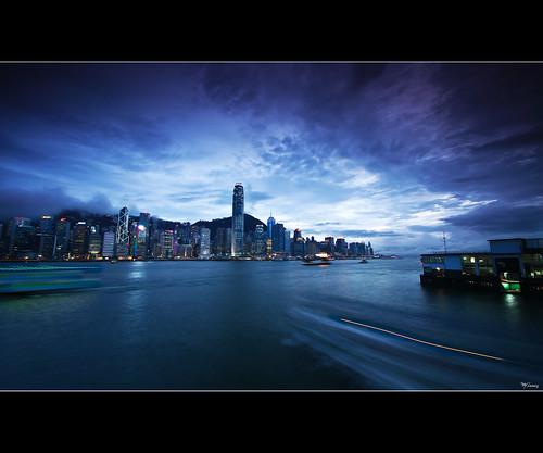 sunset storm reflection skyline night clouds canon island lights long exposure hong kong 7d tamron