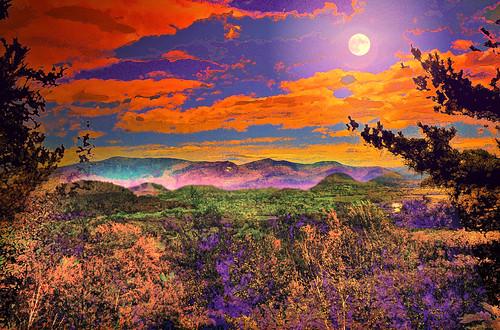 White Mountain Light   by Rusty Russ