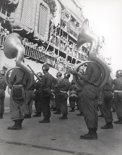 Marines Arrive in Pusan, Korea, 2 August 1950