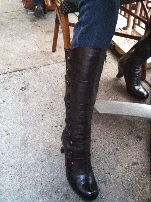 Chelle's new boots!