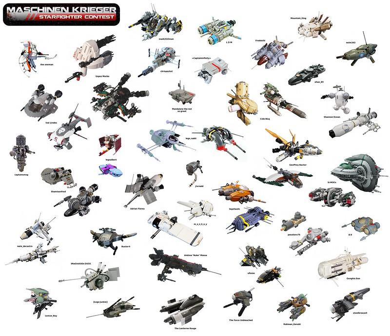 Maschinen Krieger Starfighter Contest
